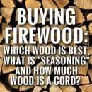 Choosing the right firewood…