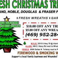 Visit our Christmas Tree Lots